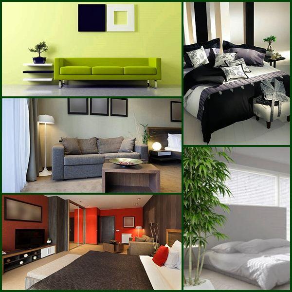 Bedroom, Living Room, Bathroom And