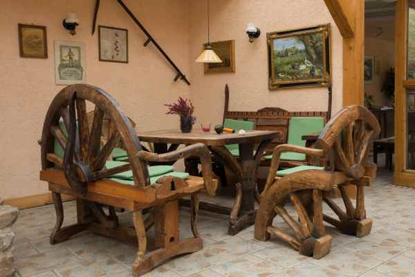 country wood style