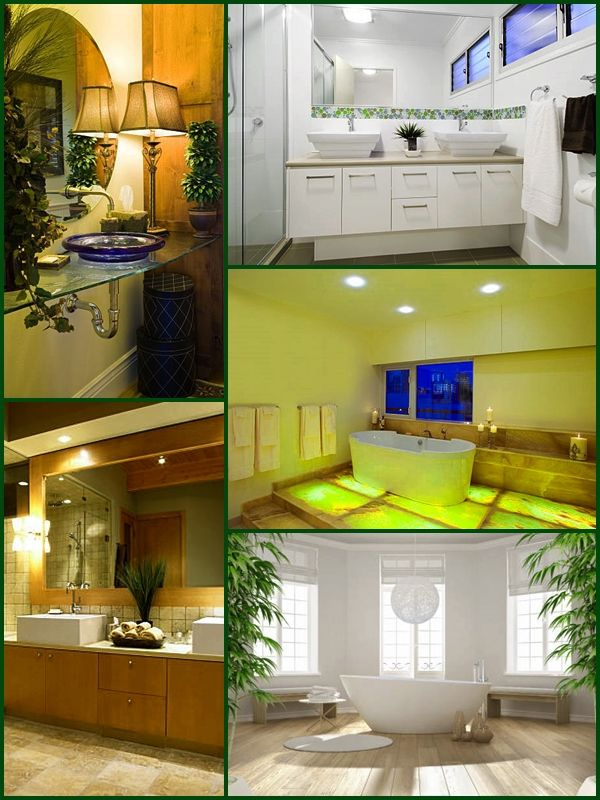Feng shui bathroom. Most feng shui bathroom solutions are meant to correct the faulty negative energetic charge that is specific to most bathrooms. #fengshui